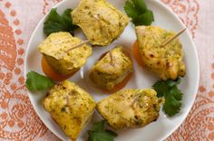 Moroccan Chicken & Apricots with a great cinnamon - cilantro dressing