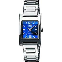 Ceas de dama Casio CLASIC LTP-1283PD-2A2EF Square Watch, Casio Watch, Watches, Accessories, Collection, Clocks, Wristwatches, Jewelry Accessories