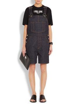 Givenchy - Overalls In Dark-blue Stretch-denim - Dark denim - FR38