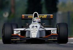 1993 Fabrizio Barbazza, Minardi M193-Ford,