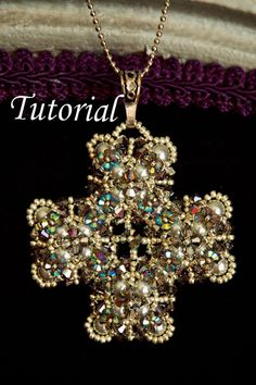 Art Deco Cross by JuellesDesigns on Etsy, $15.00