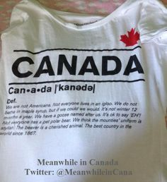 Canada is...