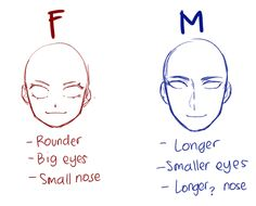 Simple Anime Anatomy for Female and Male Drawing Techniques, Drawing Tips, Drawing Stuff, Drawing Poses Male, Drawing Drawing, Gesture Drawing, Anime Drawings Sketches, Anime Eyes Drawing, Drawing Heads