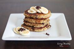 Chocolate Chip Banana Pancake (Paleo, Gluten Free)