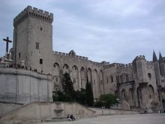 Palais des Papes,Avignon, Provence, featured in my book, Deadly Provenance