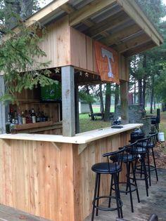 Redneck Deck Bar - Fall 2013