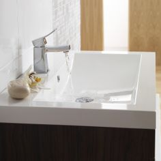 The Ethic mono basin tap will provide the finishing touches to your modern bathroom