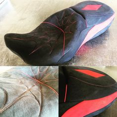 Another great motorcycle seat ready to go! #feslerinterior