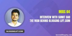 We took an interview with Sumit Sao from Blogging Lift. He shared some very useful tips for newbie. Read the full interview here. How To Start A Blog, How To Make Money, Learn Html, Best Web, News Blog, Earn Money, Affiliate Marketing, The Man, Helpful Hints