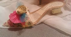 Marie Antoinette party  Handcrafted paper shoe by @Angela Williams