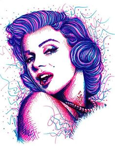 long live the legend by carissa rose marilyn monroe drawing canvas art print tattooed celebrities tattoos old-hollywood sketch