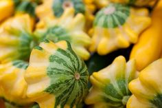 Patty Pan Squash With Shallots and Herbs