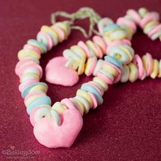 Homemade Candy Necklaces