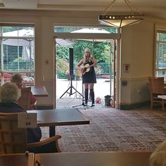 Thank you to Jennifer Lauren for the great performance here at Gilmore Gardens Retirement Residence in Richmond! We found a new way to keep our residents both safe and entertained as we move into the rainy and cold seasons 😊 #vervecares #community #music