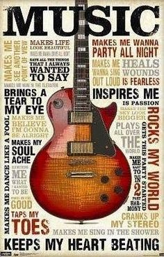 music!!! I have this poster hanging on the wall in my dorm room!!! :D
