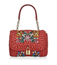 Dolce & Gabbana Miss Dolce Mediterranean Crystal Bag