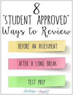 Just looked through this post and others linked to it. It has great ideas for making test prep FUN. I can't wait to try these next week. Instructional Strategies, Teaching Strategies, Teaching Tips, Teaching Math, College Teaching, Instructional Design, School Classroom, Classroom Activities, Classroom Ideas