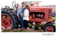 #Tractor with #fall #Engagement #photography