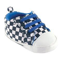 Luvable Friends Basic Canvas Sneaker, Checkered, 0-6 Months Luvable Friends. Coolest Fashionable Shoes for babies!
