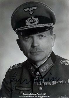 Generaloberst Heinz Guderian --- Befehlshaber Panzergruppe 2. - http://www.das-ritterkreuz.de/index_search_db.php4?modul=search_result_det&wert1=1977&searchword=guderian