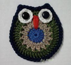 TresP craft blog: BÚHOS DE CROCHET TUTORIAL
