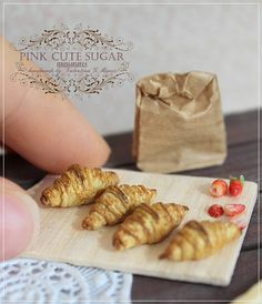 Miniature bakery products