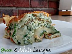 http://thefitty.com/green-and-white-lasagna/