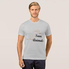 animals save T-Shirt - animal gift ideas animals and pets diy customize