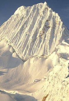 Alpamayo glacier, Ancash, Peru