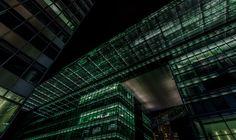 Berlin - Neues Kranzlereck - Impression at night from a new building complex at Kurfürstendamm, Berlin