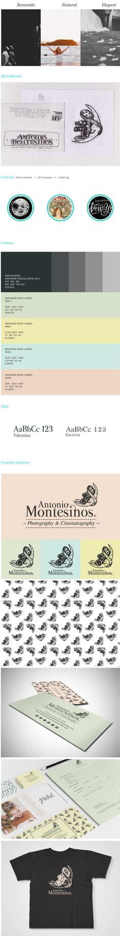 ID   Antonio Montesinos® Photography & Cinematography by Srta. Serifa, via Behance