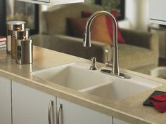 drop-in-sink, with laminate surface @Amy Eubanks
