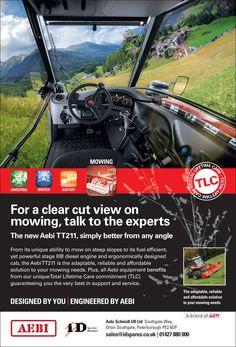 Aebi Schmidt mowing advert
