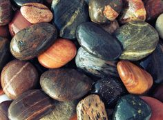 Photograph Pebble background by Vaidas Bučys on 500px