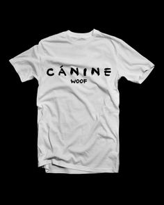 CÁNINE - ANITY I www.anity.hu Cursive, Tees, Mens Tops, Clothes, Black, Logo, Products, Fashion, Outfits
