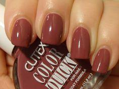 Cutex-Brown Berry
