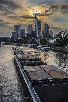 Frankfurt by goran_galijatovic #SocialFoto