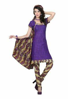 Fabdeal Women's Indian Designer Wear Printed Salwar Purple Fabdeal, http://www.amazon.co.uk/dp/B00GAPZ05Y/ref=cm_sw_r_pi_dp_NGNntb16GQ7HJ