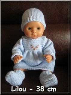 Nombreuses d'entre vous me posent des questions en rapport avec les petits tricots pour les bébés prématurés, quelle taille...