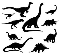 Free svg files of dinosaures