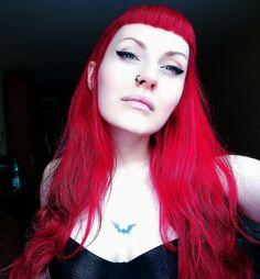 Red hair bat