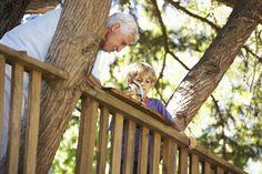 Se costruisci una casa sull'albero nel tuo giardino, puoi insegnare al tempo…