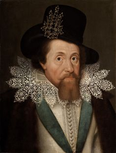 """King James I of England (he was also James VI of Scotland). He ruled Great Britain from 1603 to He commissioned the """"King James"""" version of the Bible. James 1st, King James I, House Of Stuart, Adele, English Monarchs, Cultura General, Mary Queen Of Scots, Elizabeth I, Queen Of England"""