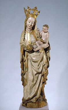 Madonna from Toporc, c. 1420. Hungarian National Gallert