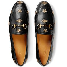 b9640e9027b Gucci Gucci Jordaan embroidered leather loafers (15
