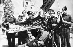 Anarchists in Zaragoza, 1936.