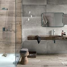 minimalistyczna azienka flaviker dakota avana i backstage zdj cie od azienka. Black Bedroom Furniture Sets. Home Design Ideas