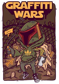 Graffiti Wars on Behance