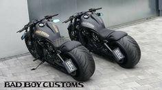 His/Her nasty fffaaassst set.-His/Her nasty fffaaassst set. His/Her nasty fffaaassst set. Bobber Motorcycle, Moto Bike, Cool Motorcycles, Motorcycle Design, Vrod Harley, Harley Bikes, Harley Bobber, Vrod Custom, Custom Harleys