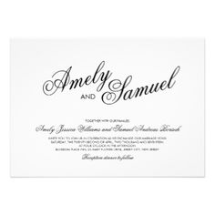 Customize this beautiful elegant Calligraphy Modern clean white Wedding Invitation, perfect for your special day. #modern #white #elegant #clean #minimalist #custom #calligraphy #calligraphic #minimal #fresh #lovely #beautiful #wedding #custom #invite #invitation #wedding #invites #invite #customizable #template #templates #marriage #ceremony #event #special #occasion #party #invites #invitations #minimalistic #classic #chic